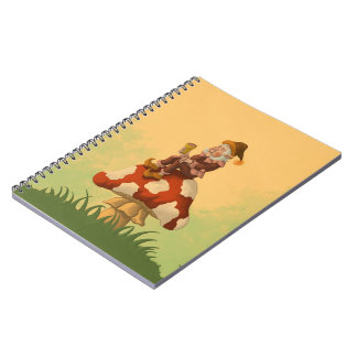 toadstool gnome notebook