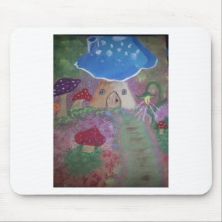 Toadstool house.jpg mouse pad