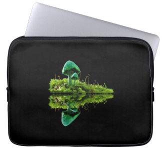 Toadstool Mushroom Mossy Fungus Laptop Sleeve