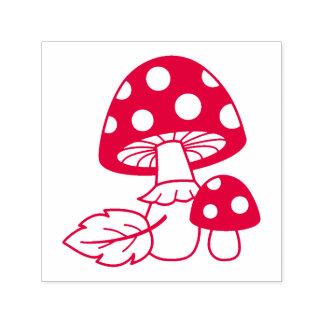 Toadstool Mushrooms Self-inking Stamp