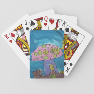 Toadstool playing cards