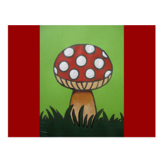 Toadstool Products Postcard