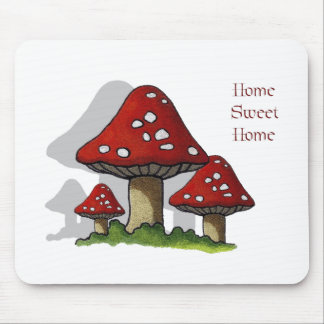 Toadstools: Art: Home Sweet Home Mouse Pad