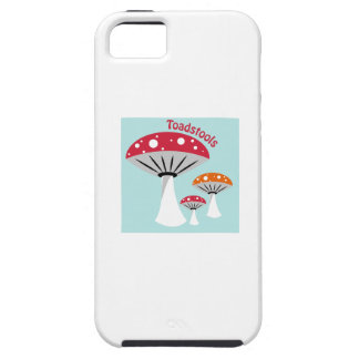 Toadstools iPhone 5 Cover