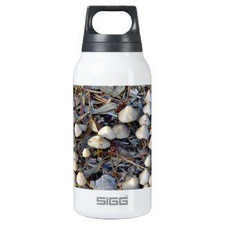 Toadstools growing on mulch insulated water bottle