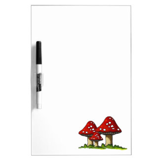 Toadstools, Mushrooms: Freehand Art: Joyart Dry-Erase Board