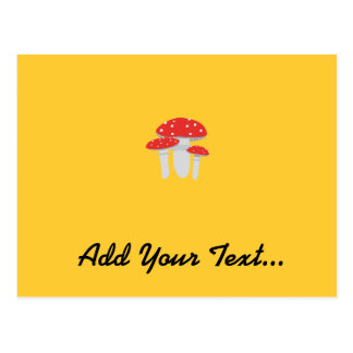Toadstools Postcard