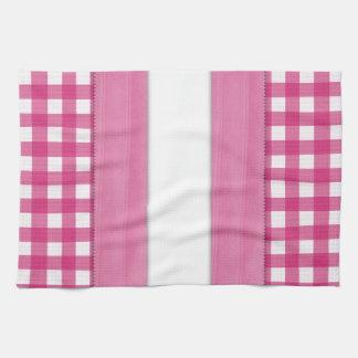 "Toalla blanca y rosada infantil femenina 16"" del b"