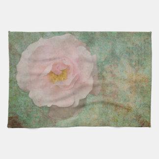 Toalla color de rosa inglesa vieja
