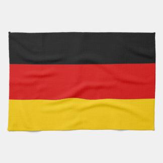 Toalla de cocina con la bandera de Alemania
