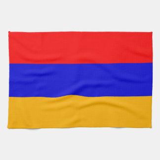 Toalla de cocina con la bandera de Armenia