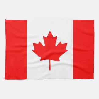 Toalla de cocina con la bandera de Canadá