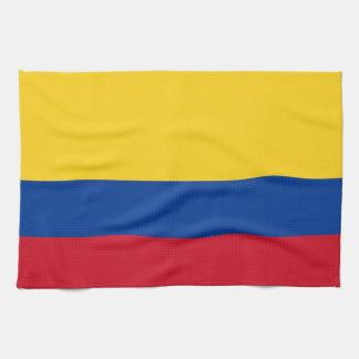 Toalla de cocina con la bandera de Colombia