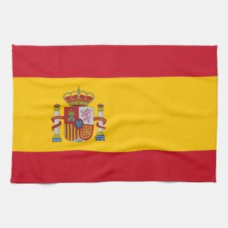 Toalla de cocina con la bandera de España