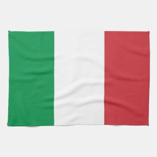 Toalla de cocina con la bandera de Italia