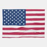 Toalla de cocina con la bandera de los E.E.U.U.
