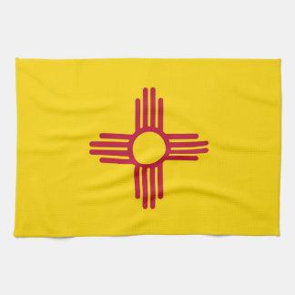 Toalla de cocina con la bandera de New México, los