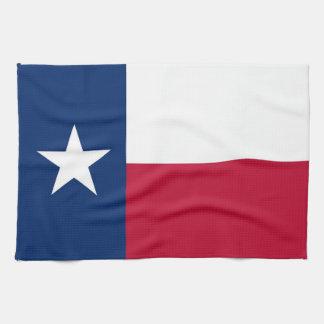Toalla de cocina con la bandera de Tejas, los E.E.
