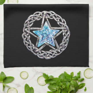 Toalla de cocina cristalina de la estrella del