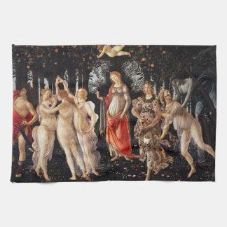 Toalla de cocina de Botticelli Primavera