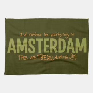 Toalla de cocina de encargo del color de AMSTERDAM