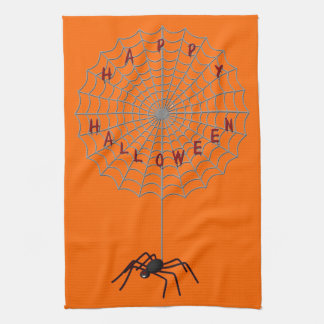 Toalla de cocina de la araña de Halloween