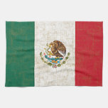 Toalla de cocina de la BANDERA MEXICANA