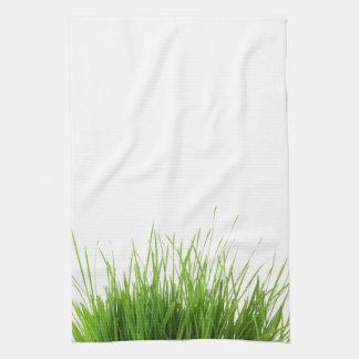Toalla de cocina de la hierba