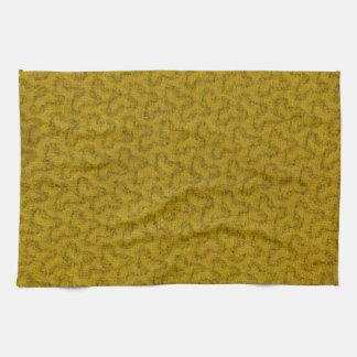 Toalla de cocina de la materia textil del vintage