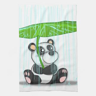 Toalla de cocina de la panda