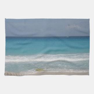 Toalla de cocina de la playa de Cancun