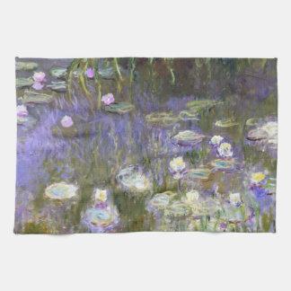 Toalla de cocina de la primavera de Monet