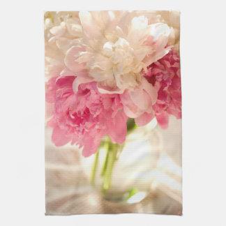 "Toalla de cocina de las flores 16"" x 24"""