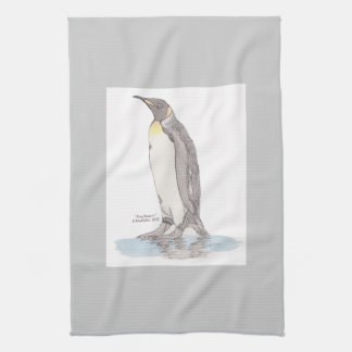 Toalla de cocina de rey pingüino