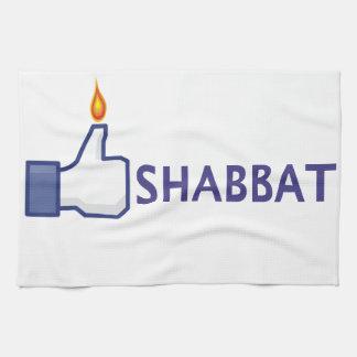 Toalla de cocina de Shabbat