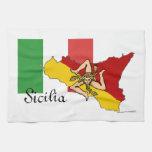 Toalla de cocina de Sicilia