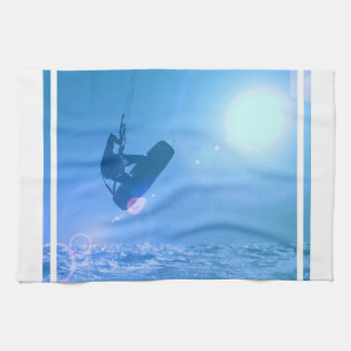 Toalla de cocina del aire de Kitesurfing