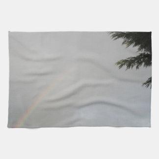 Toalla de cocina del arco iris
