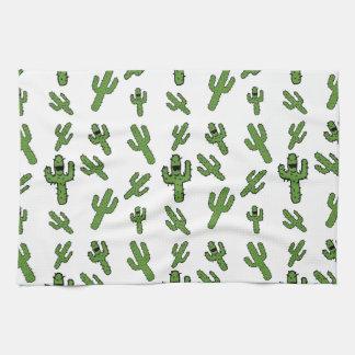 ¡Toalla de cocina del cactus!