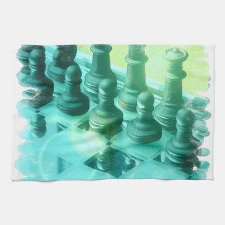 Toalla de cocina del campeón del ajedrez