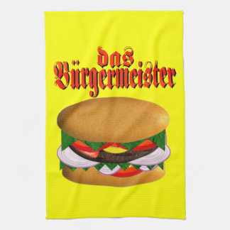 toalla de cocina del das Hamburgermeister