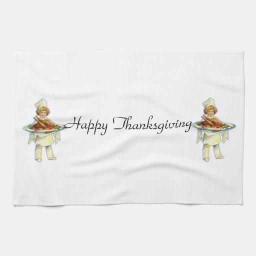 Toalla de cocina del día de la acción de gracias