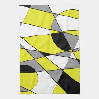 Toalla de cocina del diseño geométrico
