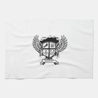 Toalla de cocina del escudo de armas de Denver H3