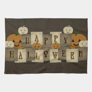 Toalla de cocina del feliz Halloween