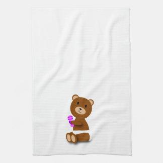 Toalla de cocina del oso del bebé