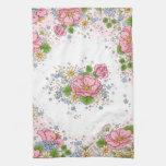 Toalla de cocina del rosa de té (rosa)