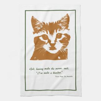 Toalla de cocina: El gato