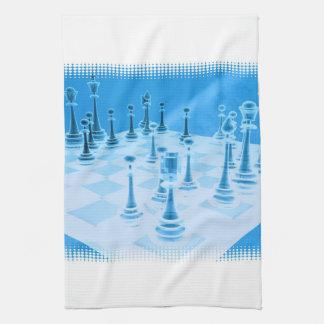 Toalla de cocina estratégica del juego del ajedrez