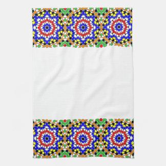 Toalla de cocina geométrica islámica del modelo